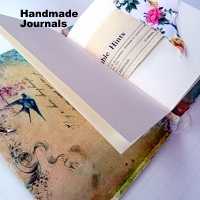 Hndmade journals 200 x 200 w text